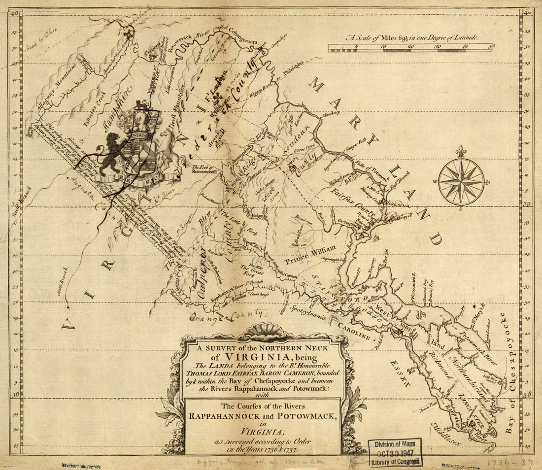 Maps Of Old Virginia And Jefferson County West Virginia